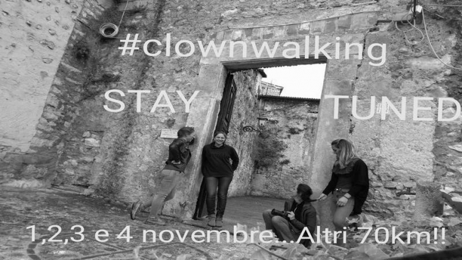 #clownwalking Stay Tunes